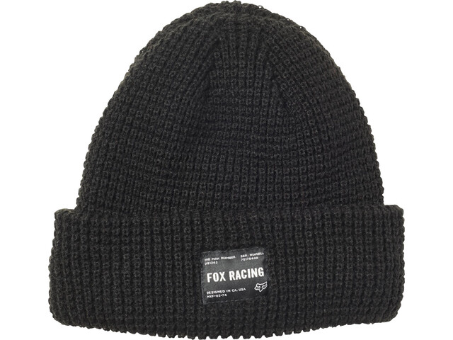Fox Reformed Beanie Heren, black